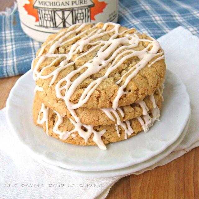 Maple-Glazed Oatmeal Cookies | Something sweet | Pinterest