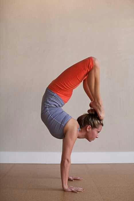 Someday i'd love to get my Yoga Teaching License and teach outside of my FT job in advertising. Also, i'd love to get ridiculously flexible and strong enough for this pose. Way cool