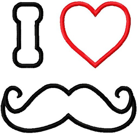 I Heart Mustache Coloring Pages,Heart.Printable Coloring Pages ...