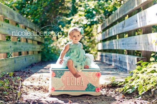 Photo by @Nicki Albertson and cutsom toy chest by @Sari Marissa Gower ..both very talented! Why thank you my dear :)