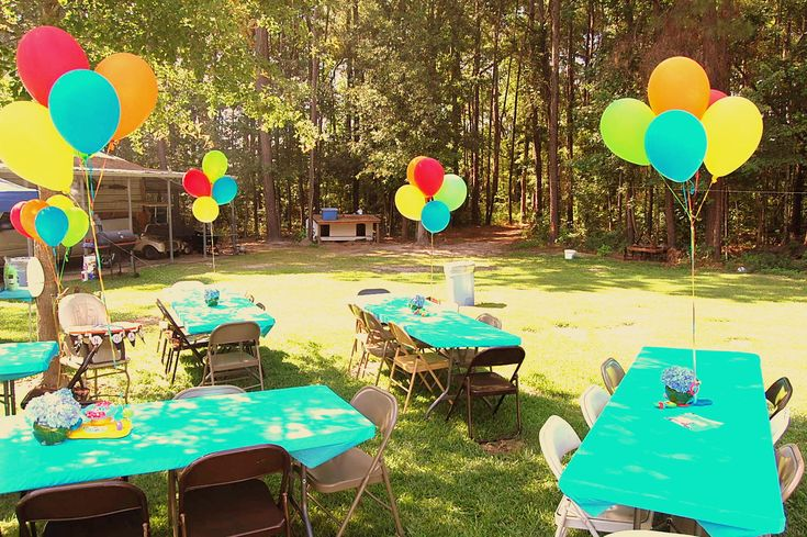 Backyard Cookout Party Ideas