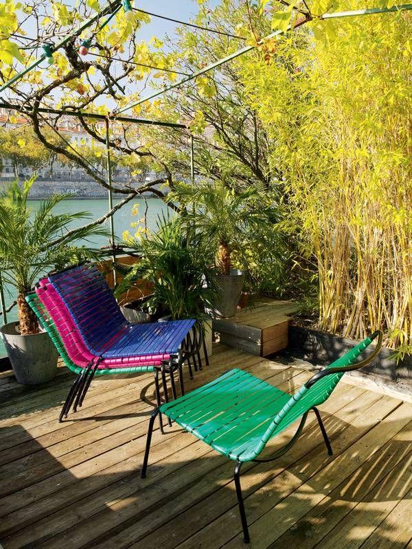 Decoraci n de terrazas y jardines mobiliario exterior - Decoracion de terrazas y jardines ...