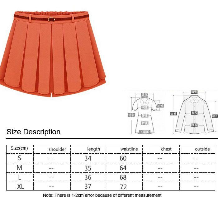 skirt 5 chart size chart