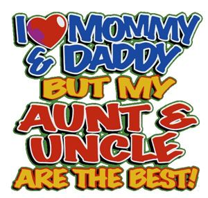 aunt and uncle are the best onesie aunties uncles. Black Bedroom Furniture Sets. Home Design Ideas