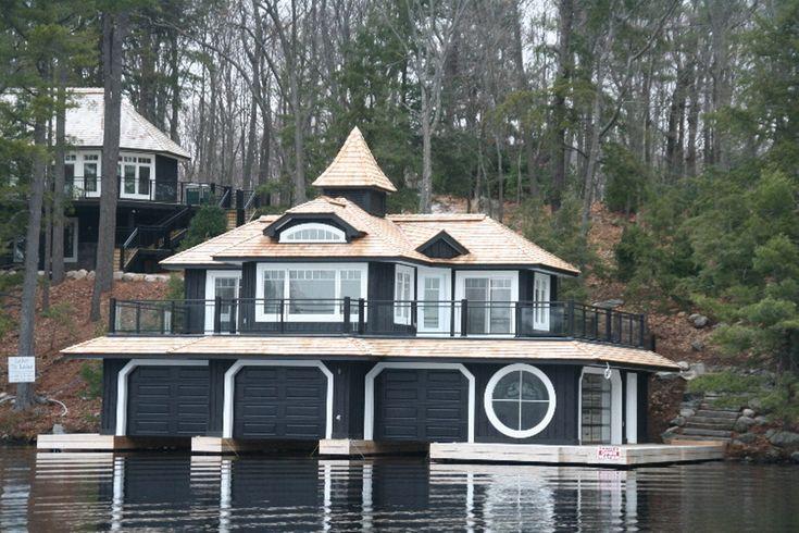 Muskoka two bedroom boathouse