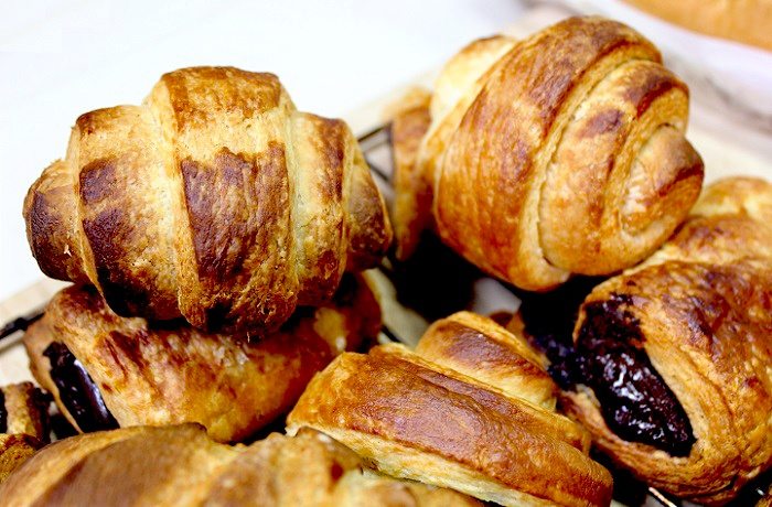 Homemade Croissants and Pain Au Chocolat - Someday I WILL try this!