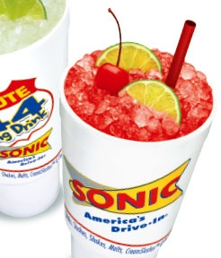 Route 44 Cherry Limeade from Sonic! | Feed Me | Pinterest