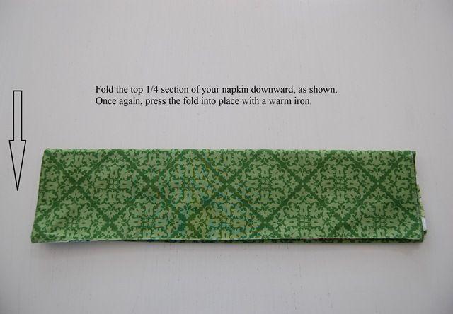 Bunny rabbit napkin folding tutorial great for easter or a springtime