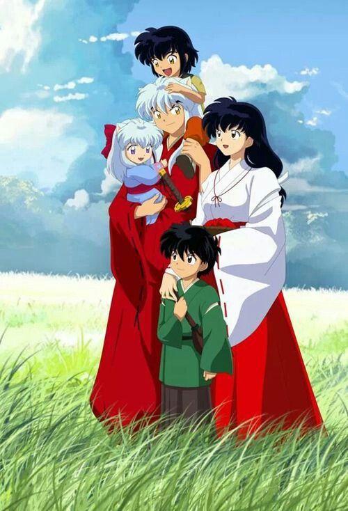 Inuyasha and Kagome familyInuyashas Family With Kagome