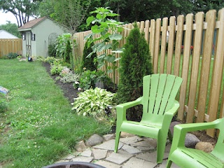 Flower Bed Fencing : Flower bed along the fence...  Backyard Ideas  Pinterest
