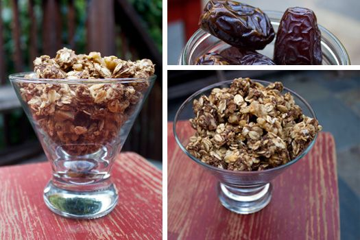 Date-Sweetened Granola | Oats & SproutsOats & Sprouts