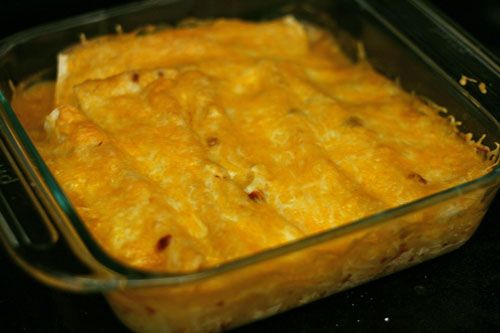 Lighter Chicken Enchiladas Recipe | www.sarahscucinabella.com | # ...
