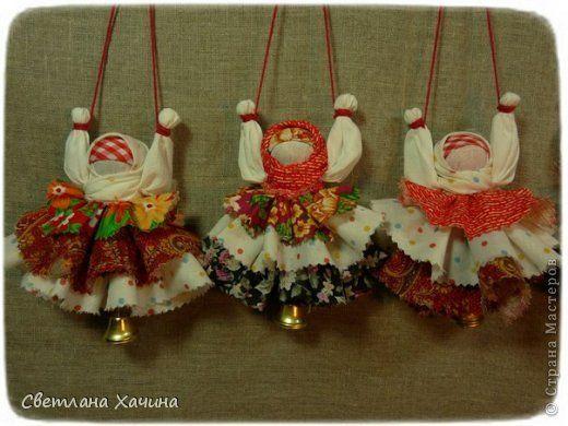 Как делать куклы обереги из ткани своими