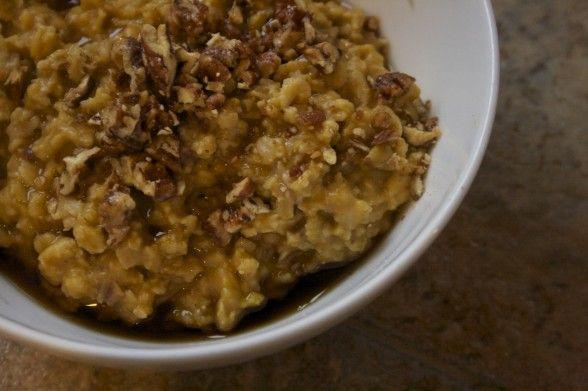 Pumpkin oatmeal | Yum | Pinterest