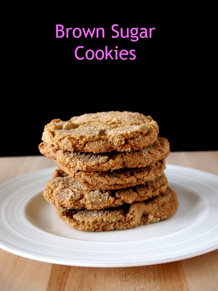 Brown Sugar Cookies | Recipe