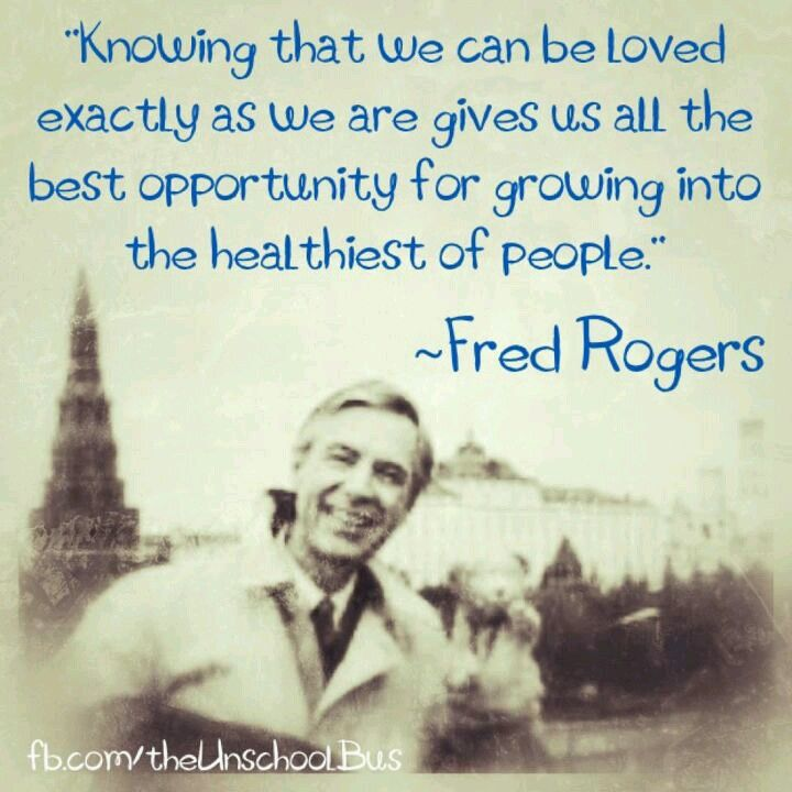 Mr Rogers Knows Best Won T You Be My Neighbor Pinterest