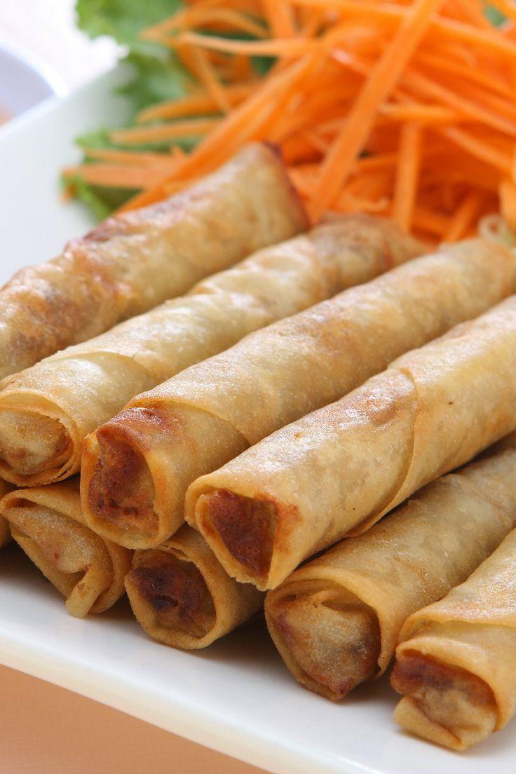 Filipino Lumpia Recipe. | FOOD! | Pinterest