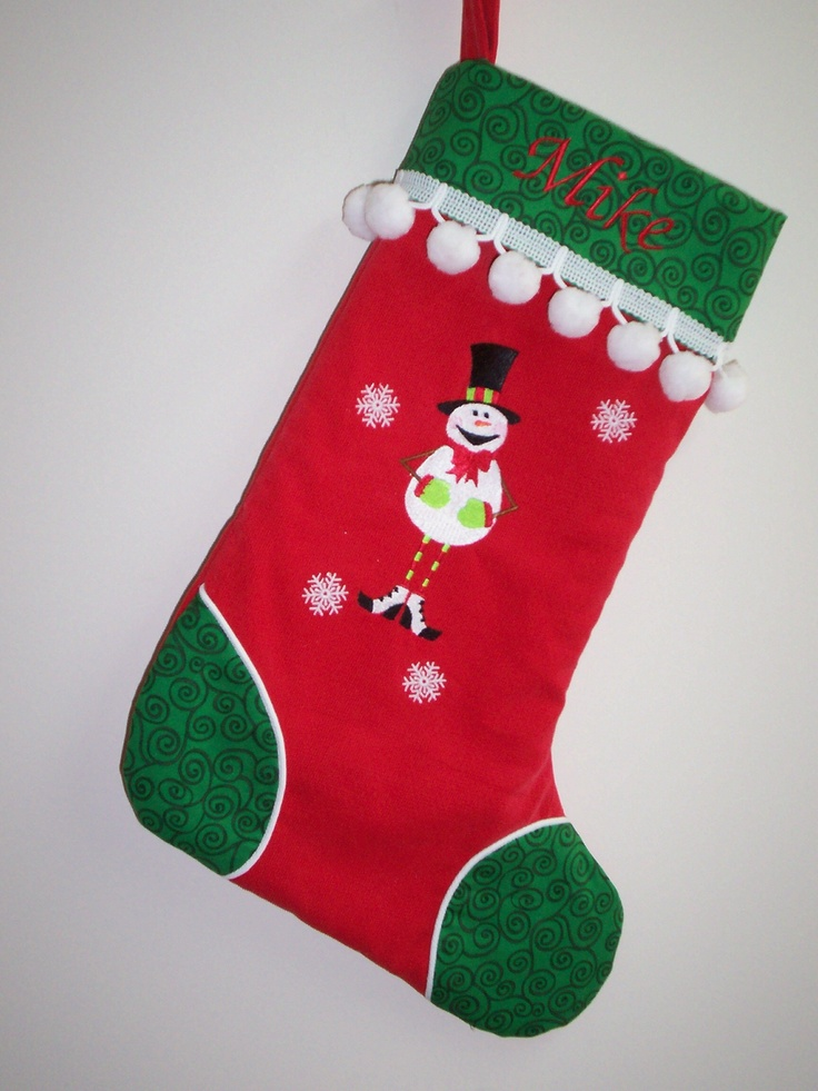 Mr Snowman | Christmas Stockings | Pinterest