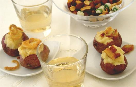 Stuffed Baby Potatoes « Shindig 411 | Favorite Recipes | Pinterest