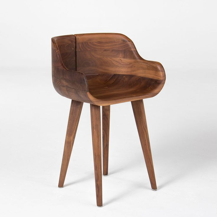 Kurf Walnut Counter Stool Coffee Shop Pinterest