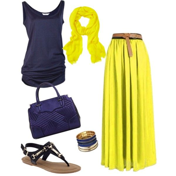 Yellow maxi skirt maxi skirts and dresses pinterest