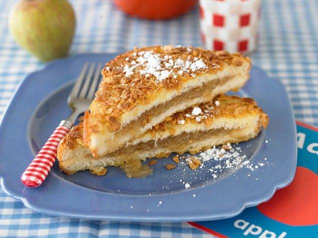 Apple Pie Stuffed French Toast | Food & Drinks | Pinterest