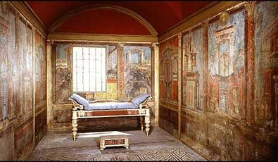 bedroom in a roman villa bed 39 s i 39 d like to sleep in