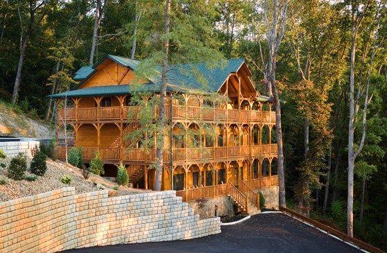Gatlinburg falls resort my dream smoky mountain cabin for Www cabins of the smoky mountains com