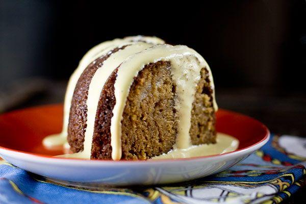 Pear & Bourbon Bundt Cake with Bourbon Sabayon, A Vintage Recipe ...