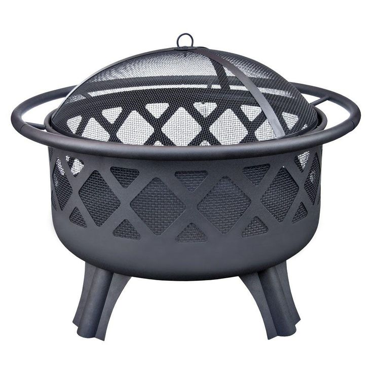 Landmann crossfire fire pit 25910 at the home depot outdoor curb