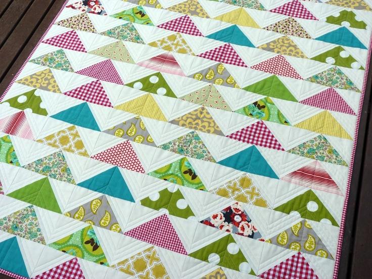 Modern Flying Geese Quilt Ideas Pinterest