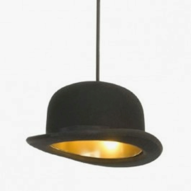 ingo maurer 39 s bowler hat lamp cool designs pinterest. Black Bedroom Furniture Sets. Home Design Ideas