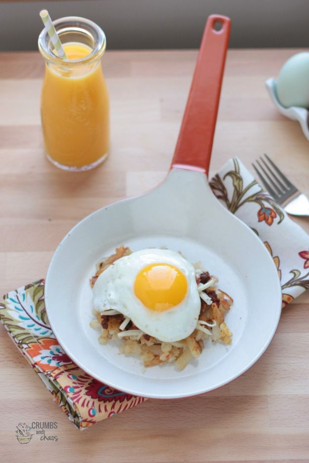Southwest Breakfast Stacks | Fun with Food | Pinterest