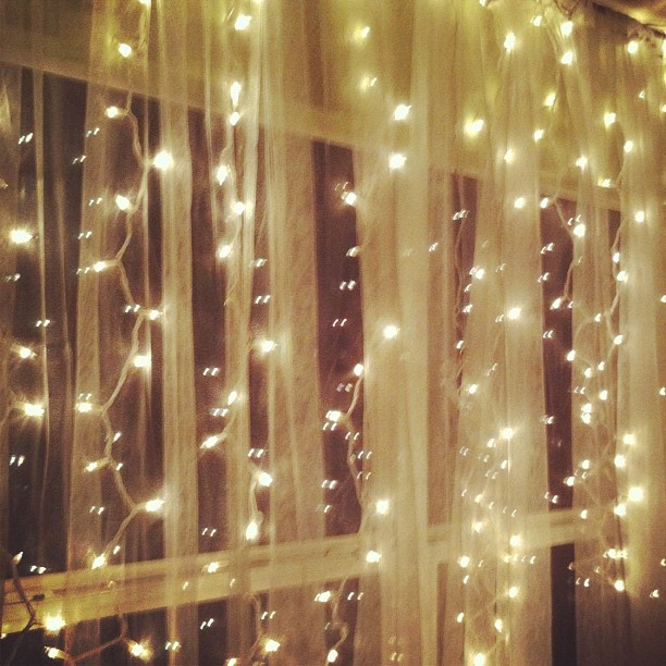 Sheer Curtains With Lights Behind Light Over Bed with Sheer Cur