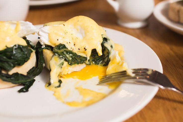 Eggs Florentine | Breakfast ideas | Pinterest
