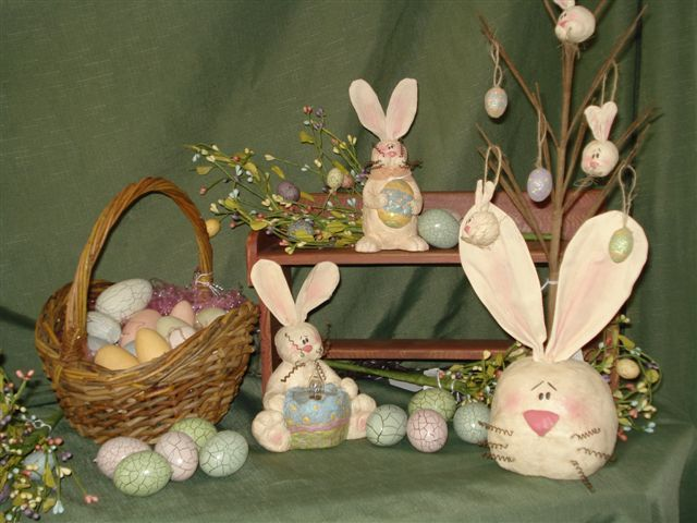 Spring primitive ideas easter pinterest for Home decorating gift ideas
