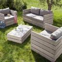 le lit de vos r ves canape de jardin en palettes. Black Bedroom Furniture Sets. Home Design Ideas