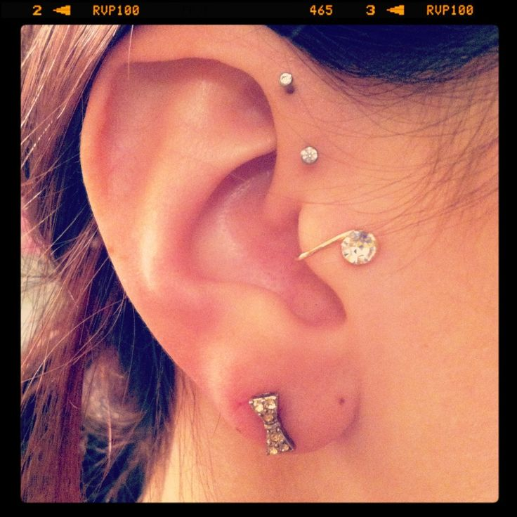 Awesome ear cuff from Claire's for my Tragus. Now I won't ...