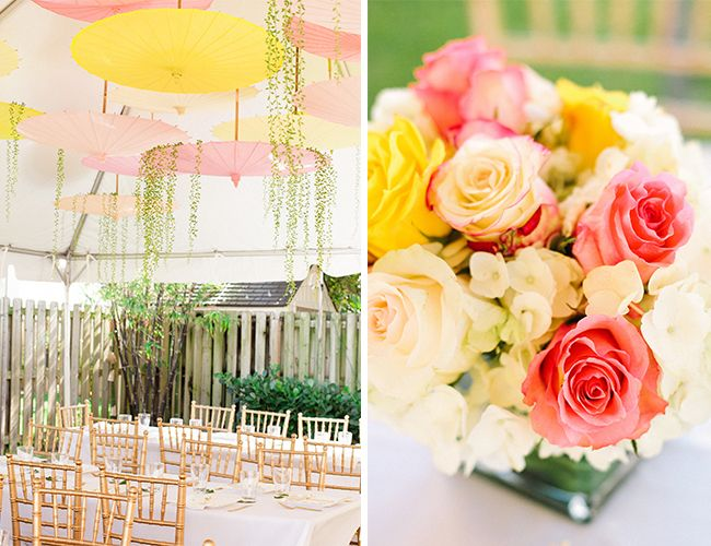pink and yellow garden baby shower by browntography inspired by