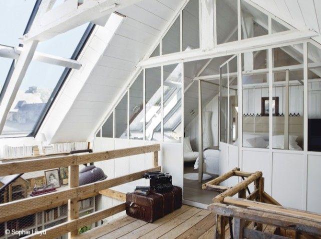 Manualidades y tendencias un hogar luminoso con paredes - Buhardillas con encanto ...