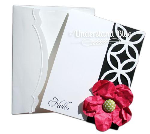 Lattice bigz die edge  and fancy edged envelope
