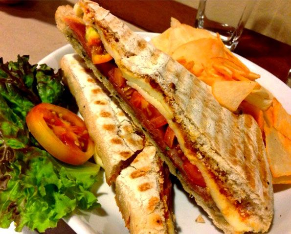 Prosciutto with Mozzarella Cheese Sandwich – Mel D. in her review ...