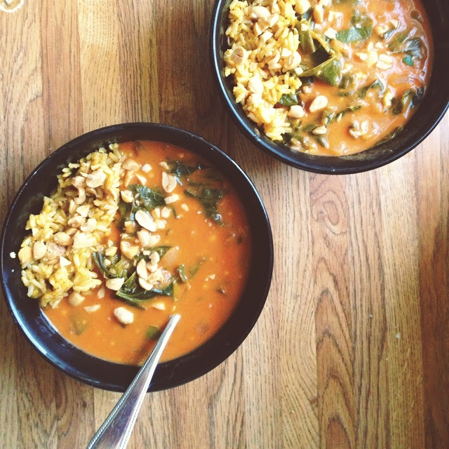 Cooking - West African Peanut Soup | Recipes to Try | Pinterest