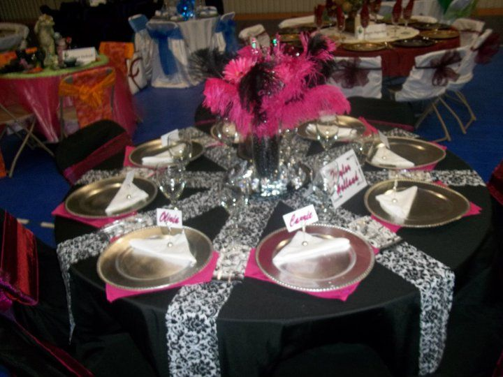 Table Setting Senior serve 2011 & Senior Graduation Table Decoration Ideas Photograph | Table