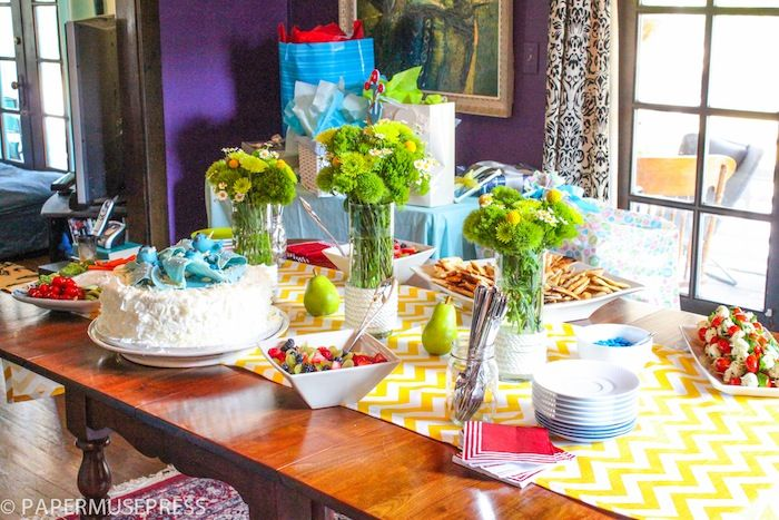 the food table baby shower ideas baby pinterest
