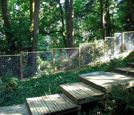 Low fence with visibility front yard ideas pinterest for Low garden fence ideas