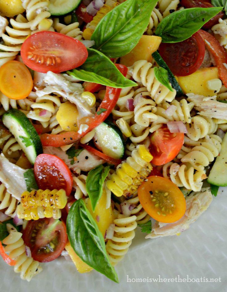 farmer's market pasta salad   Salads   Pinterest