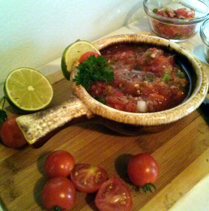 "Fresh Garden Salsa! ""Salsa made fresh veggies from the garden!!!!"" ..."