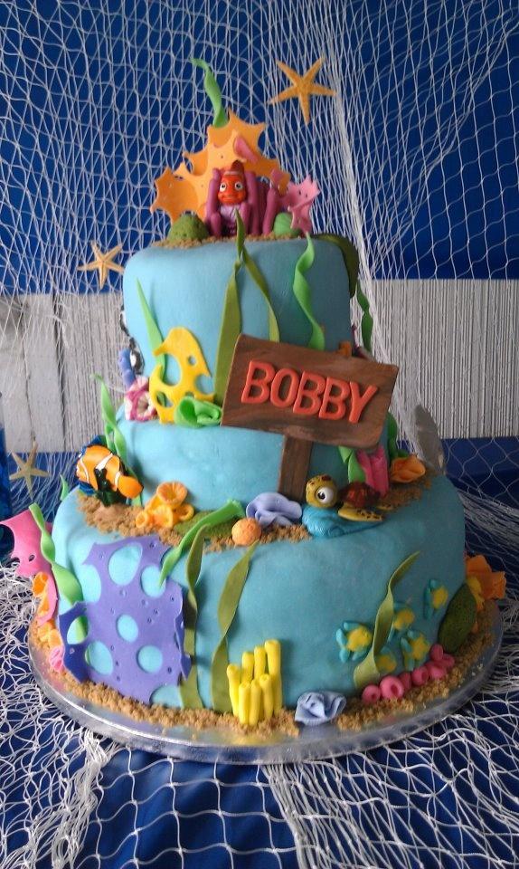 Finding Nemo birthday cake!