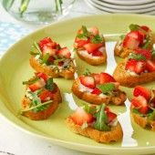 Strawberry Brunch Bruschetta